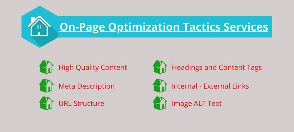 On-Page Optimization Tactics Services
